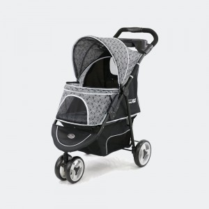 Wózek spacerowy InnoPet® Buggy Allure -  onyx, do 20 kg