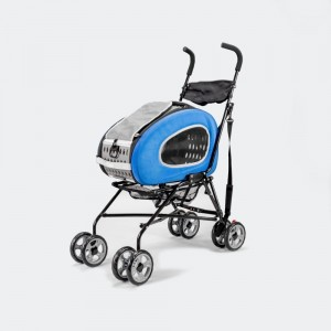 Wózek  InnoPet® Buggy 5 in 1 - niebieski, do 8 kg