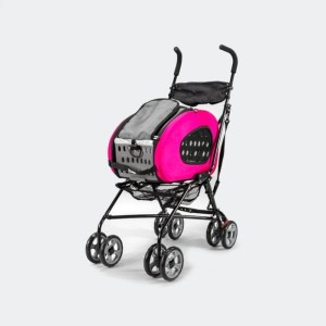Wózek  InnoPet® Buggy 5 in 1 - różowy, do 8 kg