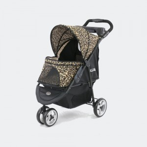 Wózek spacerowy InnoPet® Buggy Allure Cheetah -  cętki geparda, do 20 kg